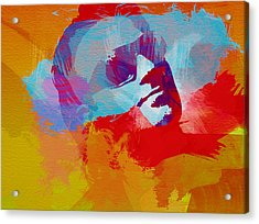 Bono U2 Acrylic Print by Naxart Studio