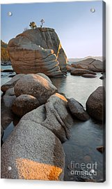 Lake Tahoe - Bonsai Rock Acrylic Print