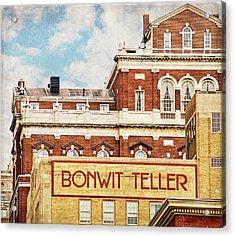 Bonwit Teller Acrylic Print