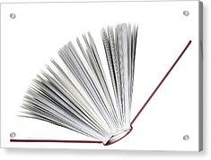Book Acrylic Print by Frank Tschakert