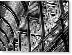 Book Heaven Acrylic Print