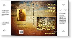 Acrylic Print featuring the digital art My Book Jacket by Kim Prowse