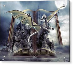 Book Of Fantasies Acrylic Print by G Berry