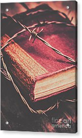 Book Of Secrets, High Security Acrylic Print