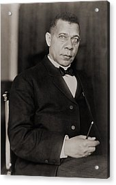 Booker T. Washington 1856-1915, Became Acrylic Print by Everett