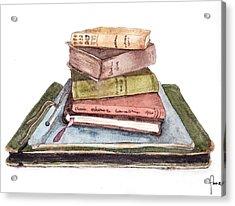 Books Acrylic Print