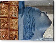 Books Acrylic Print by Eleni Mac Synodinos