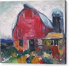 Boompa's Barn Acrylic Print