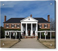 Boone Hall Plantation Charleston Sc Acrylic Print by Susanne Van Hulst