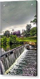 Boonton New Jersey Spillway Acrylic Print