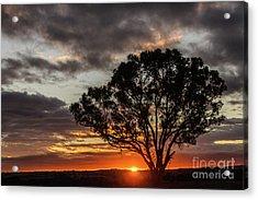 Boorowa Sunset Acrylic Print