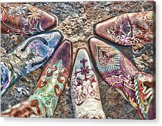 Boot Fan Acrylic Print