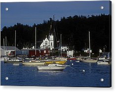 Boothbay Harbor Maine 2 Acrylic Print by Darleen Stry