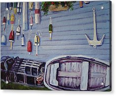 Boothbay Markers Acrylic Print