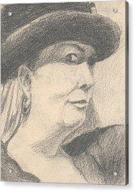 Bootsie Acrylic Print by T Ezell