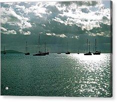 Boqueron Bay Acrylic Print