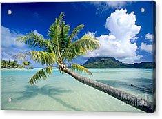 Bora Bora Beach Acrylic Print