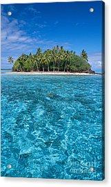 Bora Bora, Motu Acrylic Print by Joe Carini - Printscapes