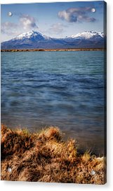 Acrylic Print featuring the photograph Borax Lake by Cat Connor