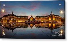 Bordeaux Reflections Acrylic Print