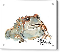 Boreal Chorus Frog Acrylic Print