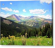 Boreas Pass Colorado Acrylic Print