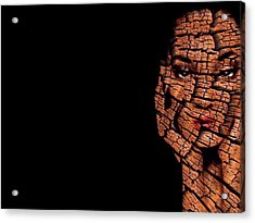 Acrylic Print featuring the digital art Bored Stiff by ISAW Company