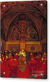 Borgia Reigns In The Vatican Acrylic Print by MotionAge Designs