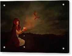 Born Of Magic Acrylic Print