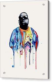 Born Sinner  Acrylic Print