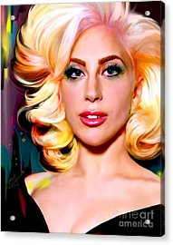 Born This Way, Lady Gaga Acrylic Print