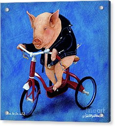 Born To Be Wild... Acrylic Print by Will Bullas