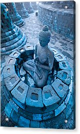 Borobudur Temple Acrylic Print
