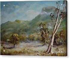 Boronia Peak Acrylic Print
