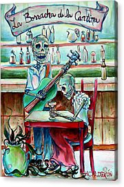 Borracha De La Cantina Acrylic Print