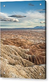 Borrego Badlands Acrylic Print