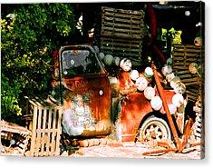 B.o.'s Fish Wagon In Key West Acrylic Print