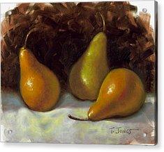 Bosc Pears Acrylic Print