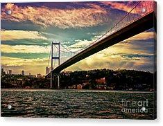 Bosphorous Bridge Acrylic Print by Nilay Tailor