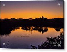 Bosque Del Apache Sunset Acrylic Print