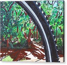 Bosque Singletrack Acrylic Print
