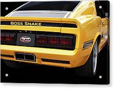 Boss Snake Acrylic Print