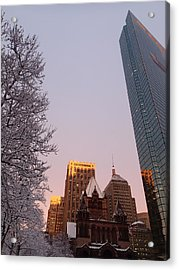 Boston 02/05/16 Acrylic Print