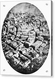 Boston 1860 Acrylic Print by Granger