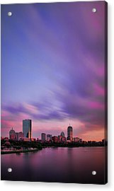 Boston Afterglow Acrylic Print