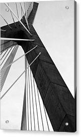 Boston Bridge  Acrylic Print by Maria Lopez