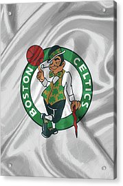 Boston Celtics Acrylic Print by Afterdarkness