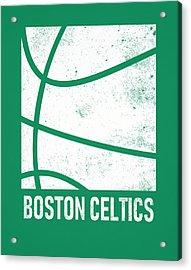 Boston Celtics City Poster Art 2 Acrylic Print