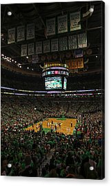 Boston Celts Acrylic Print by Juergen Roth