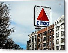 Boston Citgo Sign Acrylic Print by Ryan McKee